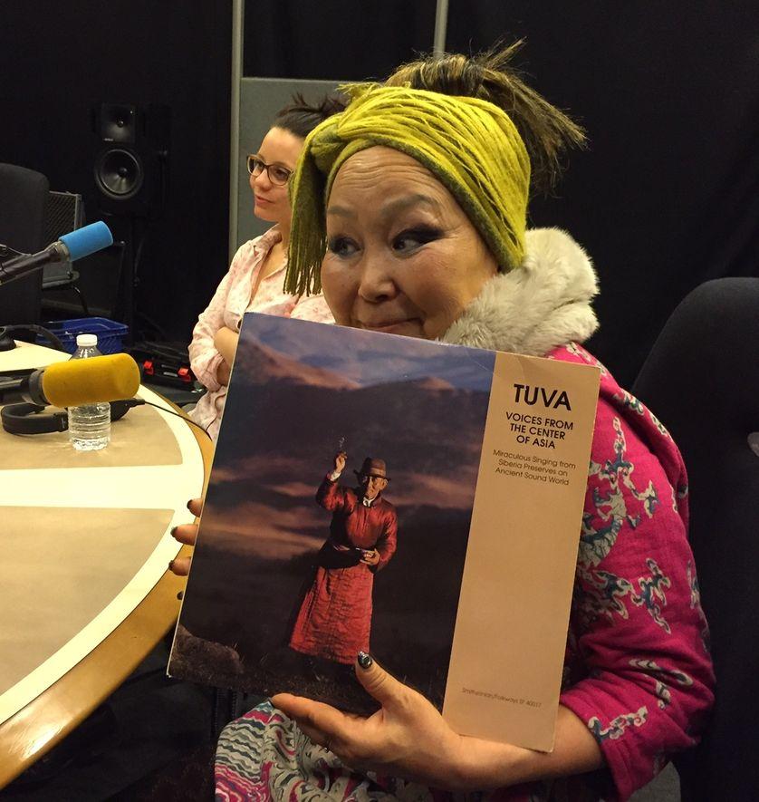 """Sainkho Namtchylak et le vinyle """"Tuva"""" et Anne Paceo"""