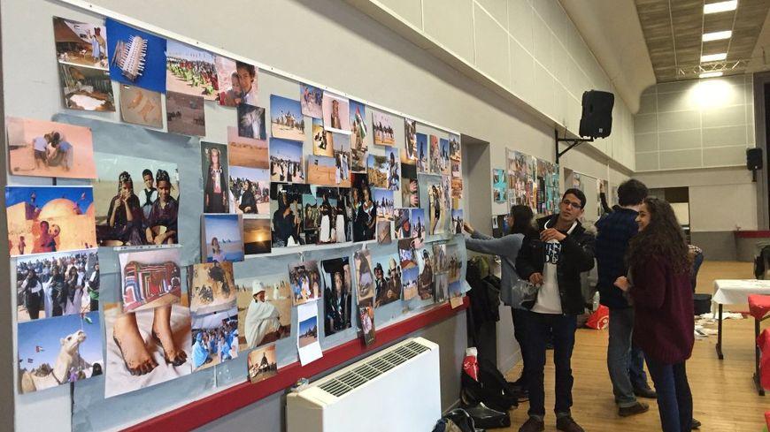 Les Sahraouis avaient prévu une exposition photo