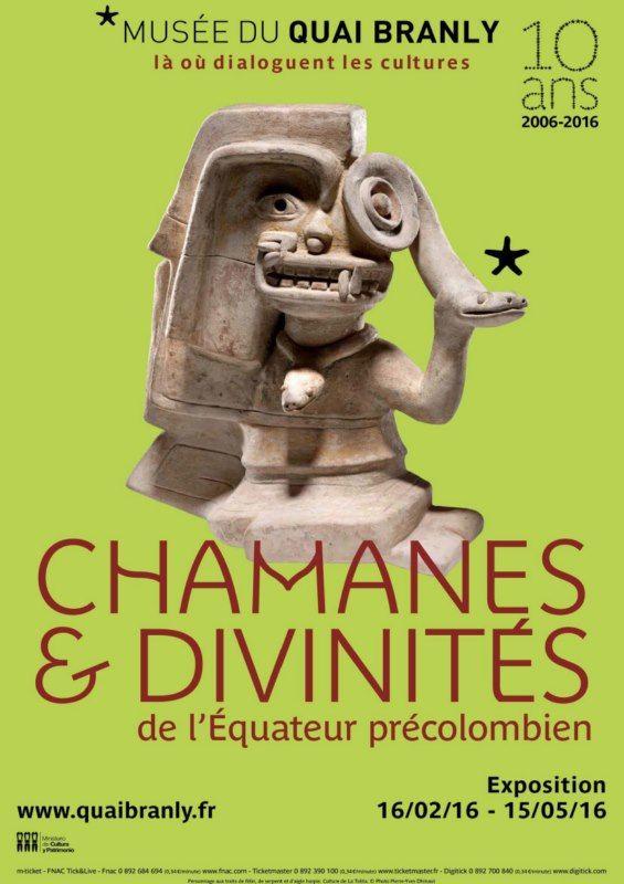 Exposition « Chamanes et divinités de l'Equateur précolombien » au musée du Quai