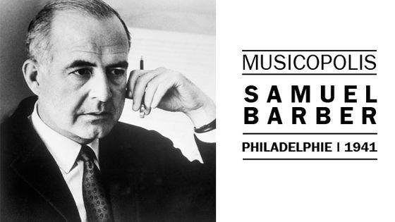 Portrait de Samuel Barber ©Corbis