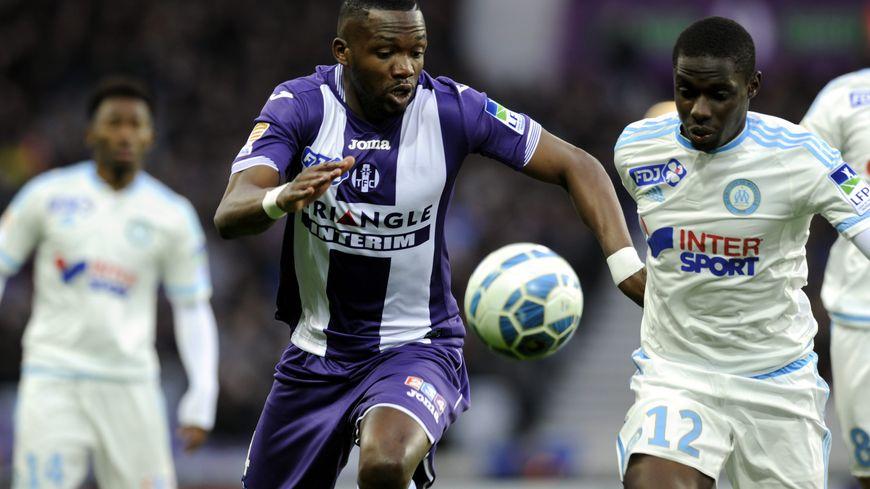 Tongo Doumbia ici contre l'OM en Coupe de la Ligue