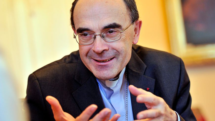 Mgr Barbarin, archevêque de Lyon