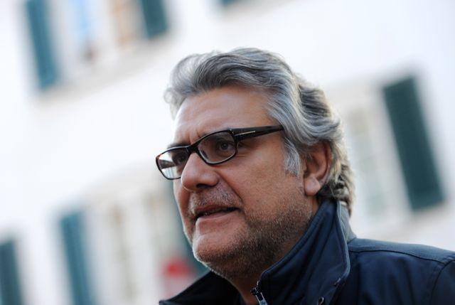 Giancarlo de Cataldo pour la nuit des films de mafia à Munich, le 25 mars 2012