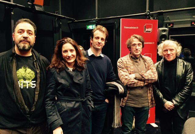 Rafik Djoumi, Marjolaine Jarry, Alexandre Lacroix, Pierre Lagrange et Pascal Ory