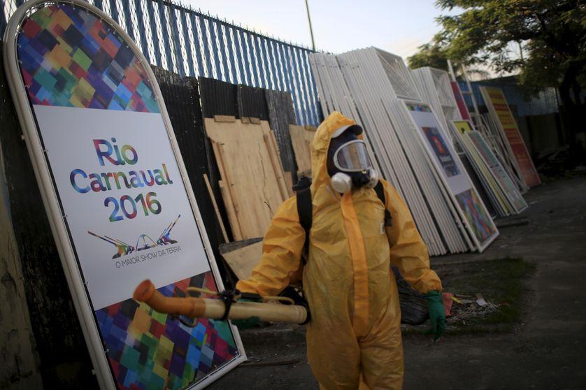 Le sambodrôme de Rio a été aspergé d'insecticide avant les défilés du Carnaval