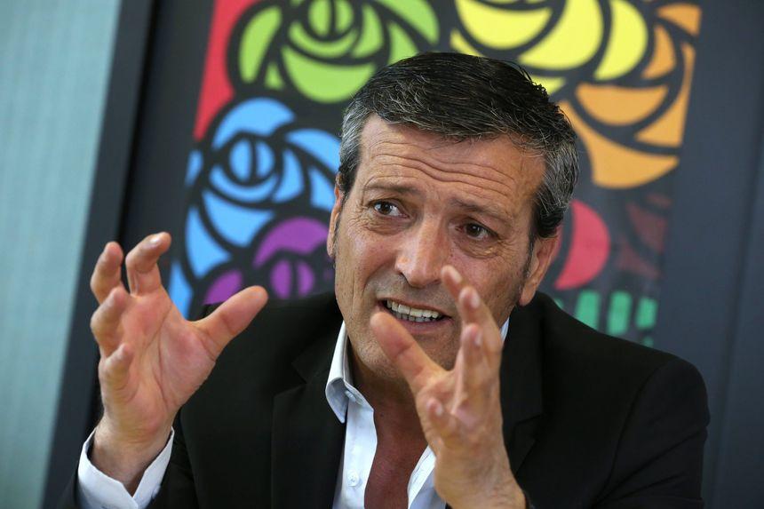 Edouard Martin, ancien syndicaliste chez ArcelorMittal, député européen.