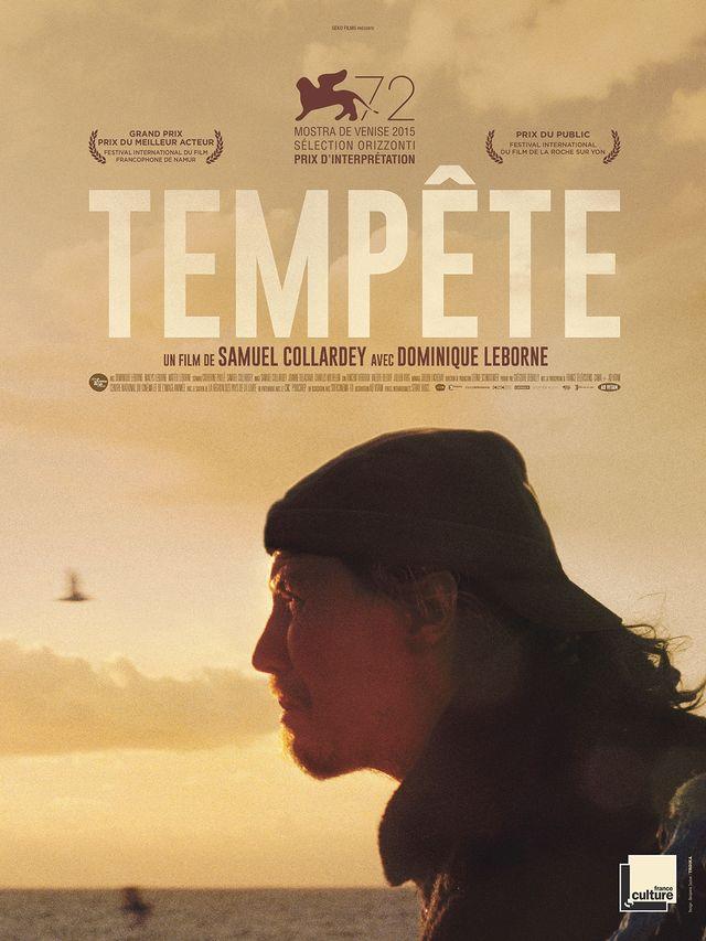 """Affiche du film """"Tempête"""" de Samuel Collardey"""