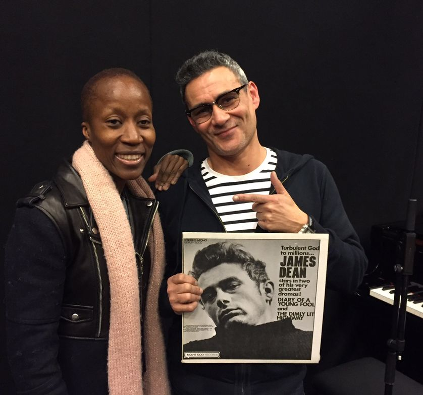 Rokia Traoré et Jean-Paul Roland