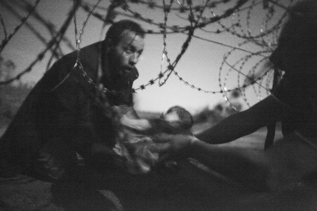 Le 1ER prix  World Press photo 2016 a été attribué à Warren Richardson
