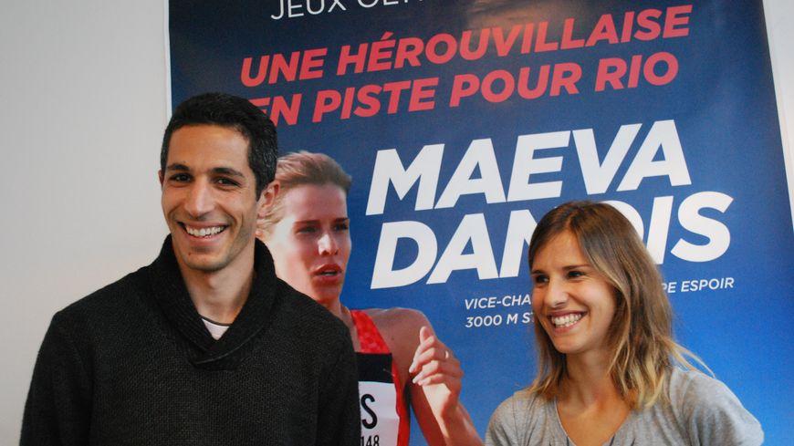 Maëva Danois et son coach Adrien Taouji visent les minimas d'ici juillet