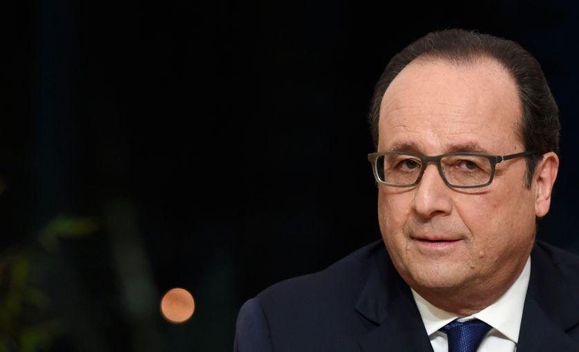 François Hollande, Palais de l'Elysée, 11 février 2016