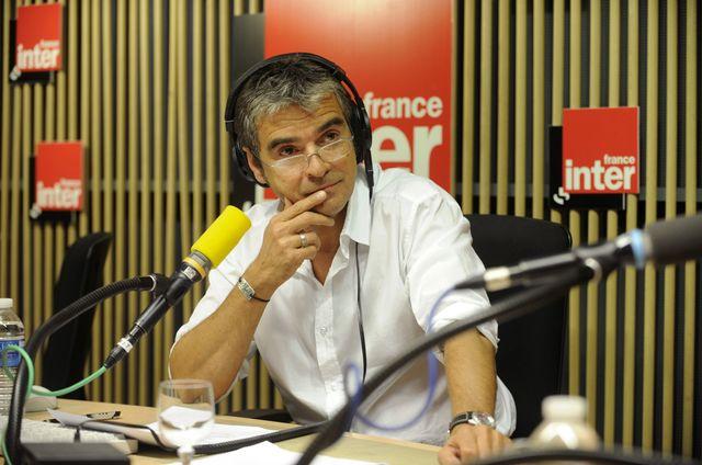 Fabrice Drouelle en studio.2008