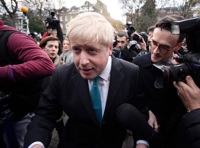 Boris Johnson pour le Brexit