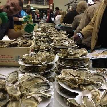 Foire aux huîtres à Marcq-en-Baroeul