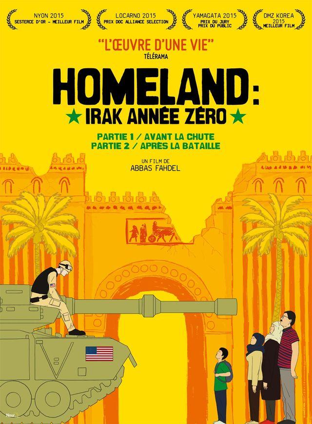 "Affiche ""Homeland : Irak année zéro"""