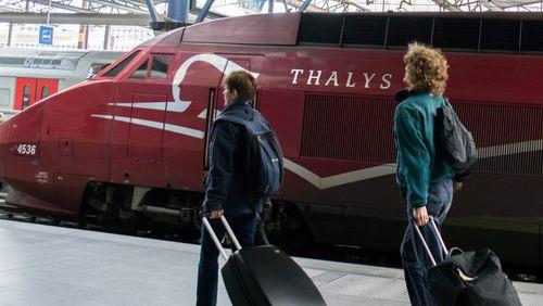 Épisode 1 : Conversations dans le train pour Bruxelles