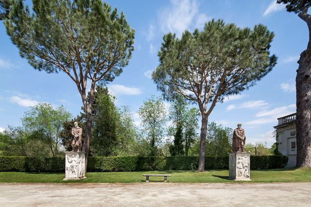 La Villa Médicis, à Rome