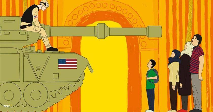"""Détail de l'affiche de """"Homeland : Irak année zéro"""""""
