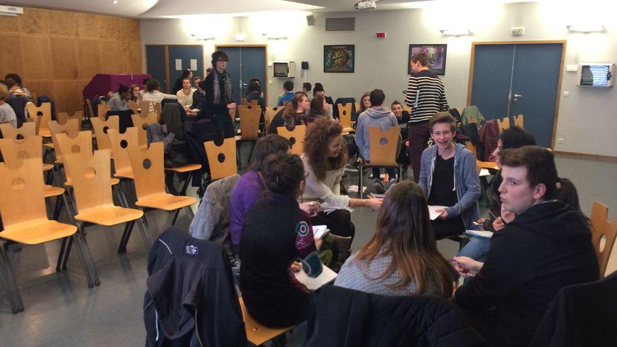 Des ateliers étaient organisés à la Cité scolaire Europôle.