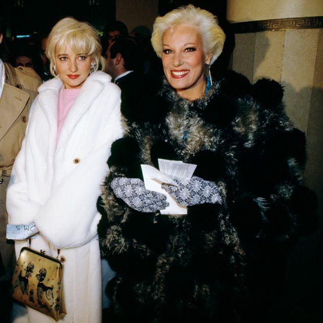 Bernadette Lafont et sa fille Pauline (1987) / Corbis Copyright : John Van Hasselt/Sygma/Corbis
