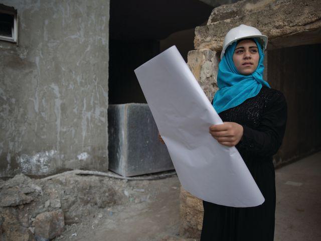 Fatima, 16 ans, veut devenir architecte.