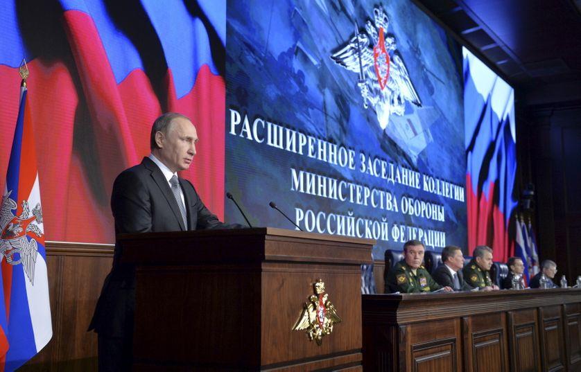 Discours de Vladimir Poutine lors du sommet russe de la défense,11 décembre 2015