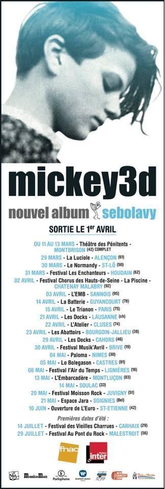 La tournée 2016 de MiCkey 3D