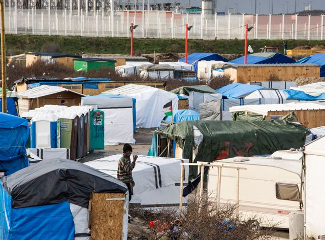 La moitié du campement de réfugiés de Calais doit être démantelé avant la fin de la semaine