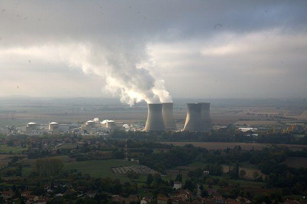 La centrale nucléaire du Bugey dans l'Ain