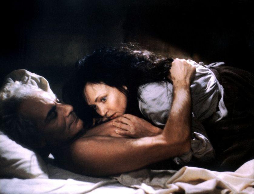 Anna Karina et Gian Maria Volonté dans L'Oeuvre au Noir en 1988