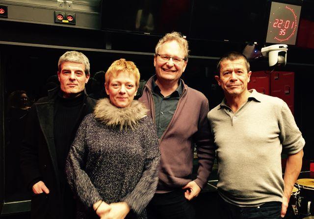 Serge Lehman, Catherine Dufour, Ariel Kyrou et Emmanuel Carrère