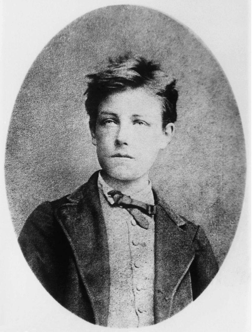 Arthur Rimbaud (1854-1891) par Cayat en 1870. Conservation : Bibliotheque Natio