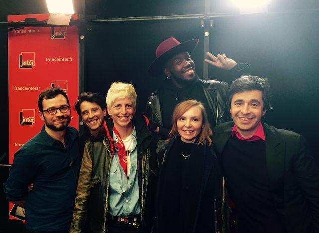 Antoine Dabrowski, Fany Corral, Stéphanie Fichard, Kiddy Smile, Mélanie Bauer et Ariel Wizman