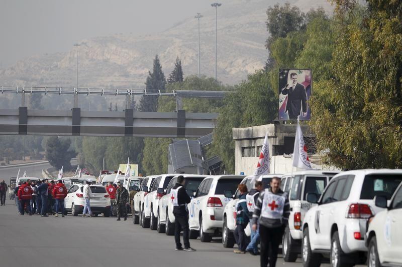 Convoi humanitaire vers Madaya