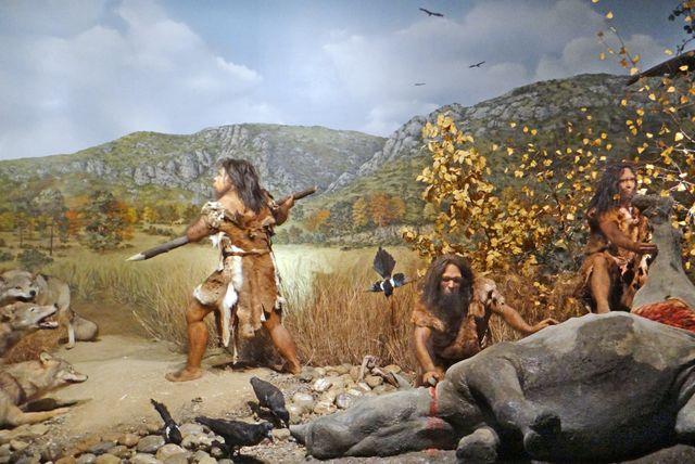 L'Homme de Tautavel il y 450 000 ans.