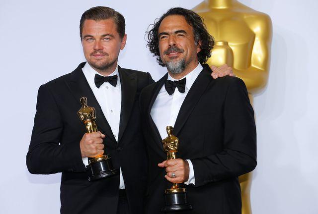 Leonardo DiCaprio et Alejandro Gonzalez Inarritu