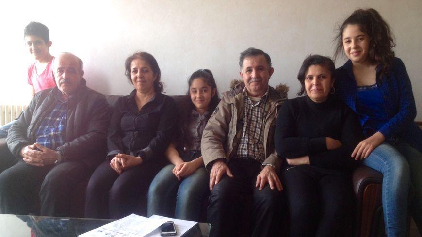 La famille Zeebaree réfugiée à Guéret après avoir fui l'Irak et l'Etat Islamique