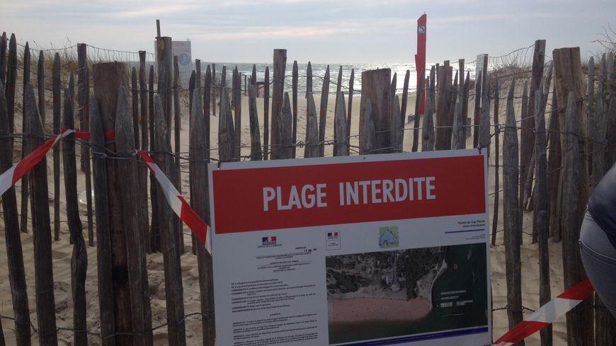 La plage de la Pointe du Cap Ferret est fermée jusqu'à la fin avril