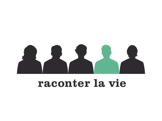 """Logo du projet """"Raconter la vie"""""""