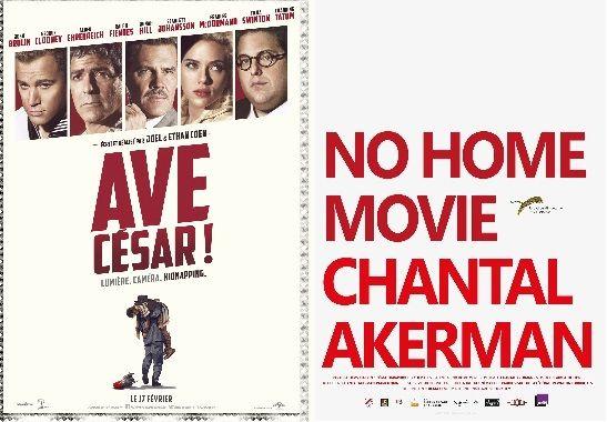 """""""Ave Cesar"""", """"No Home Movie"""""""