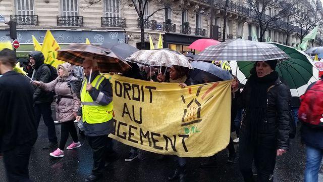Manifestation du 30 janvier 2016 contre l'état d'urgence. Au départ, place de la République