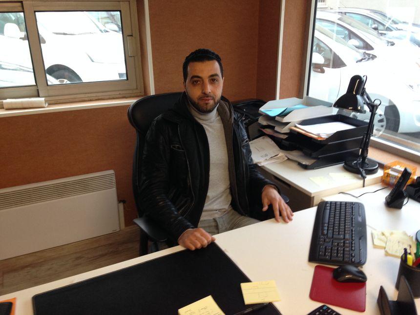 Le président de l'association Averroès Kader El Assri