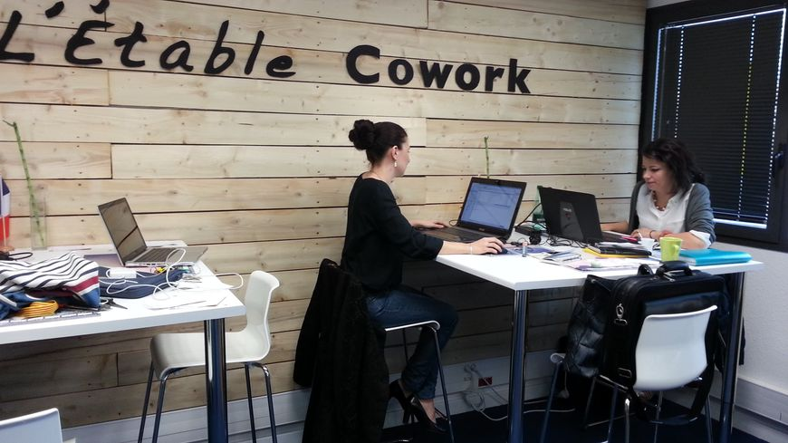 Un bureau à l'Etable pour ne pas travailler chez soi