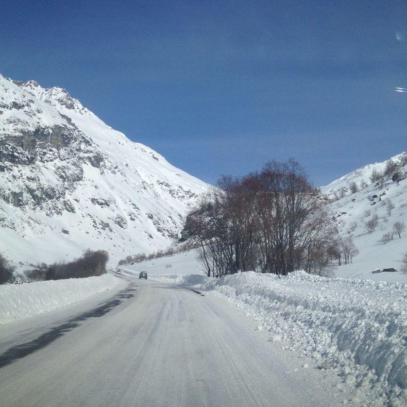En route vers Bonneval-Sur-Arc