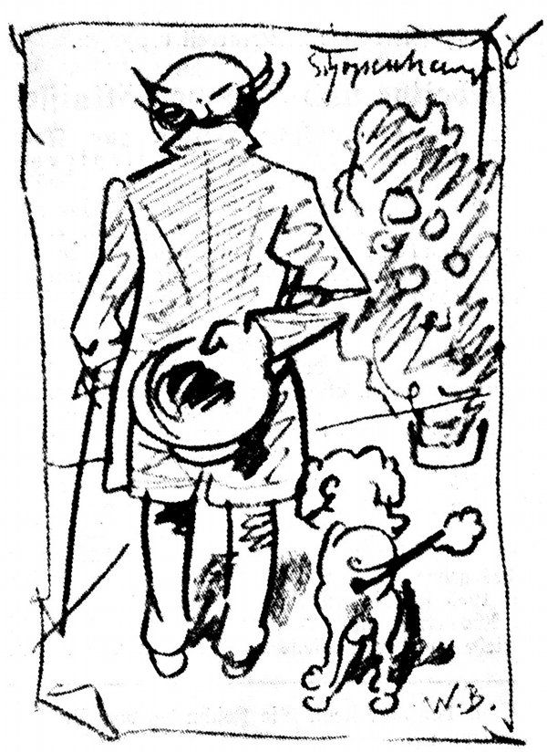 Schopenhauer et son caniche