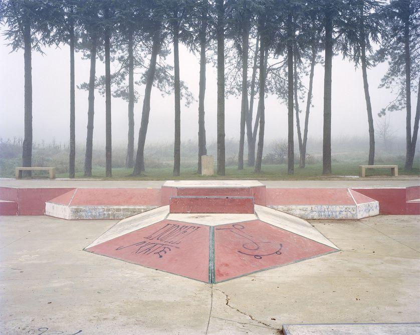Skatepark, Magny-les-Hameaux, commande photographique de la villa Noailles.