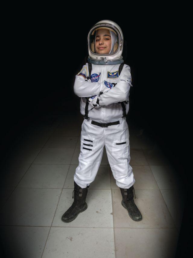 Haja, 12 ans, veut devenir astronaute