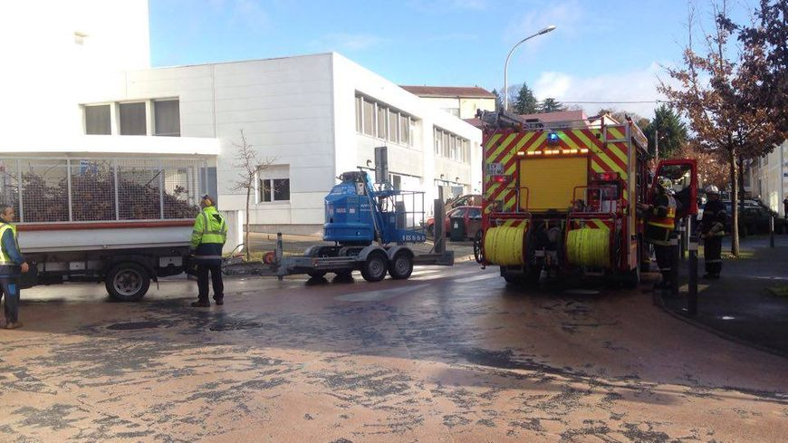 Le collège Clos-Chassaing a été évacué