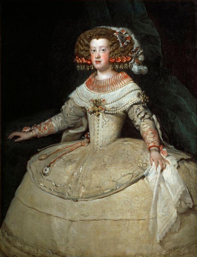 L'infante Marie-Thérèse d'Autriche peinte par Velasquez