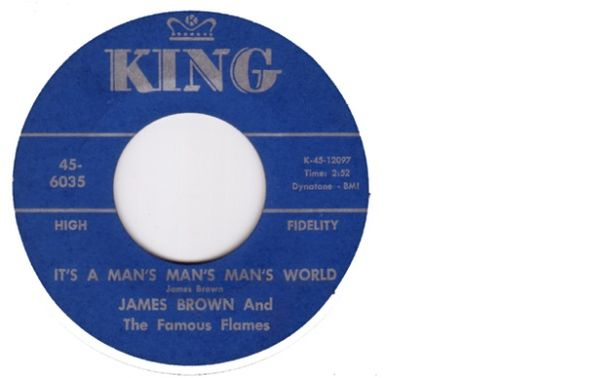 Photo - montage rond de 45t James Brown 1966